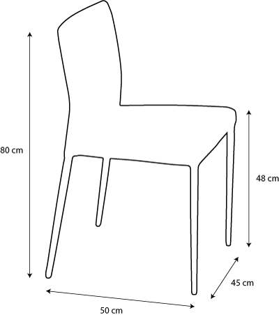 size chair